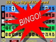 US-BINGO Digital Flashboard Bingo 1