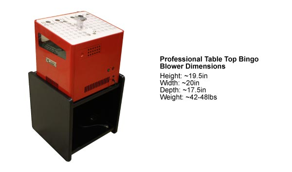 US-BINGO Professional Table Top Blower