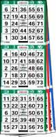 3 On 3 Up Bingo Paper Books