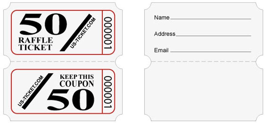 Raffle Tickets from US BINGO, the Largest Online Raffle Ticket Store ...