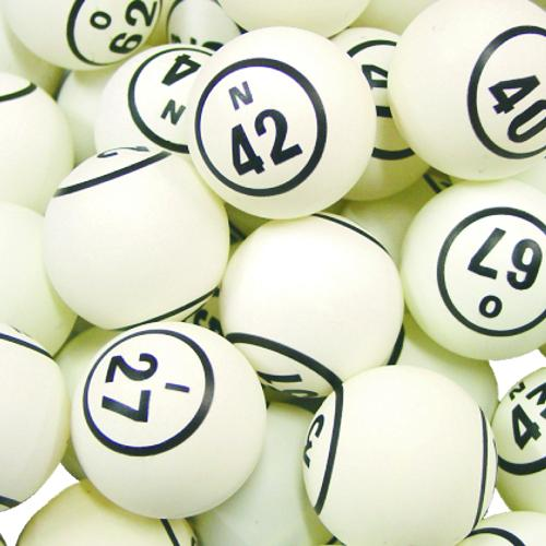 BINGO BALL- WHITE 2#