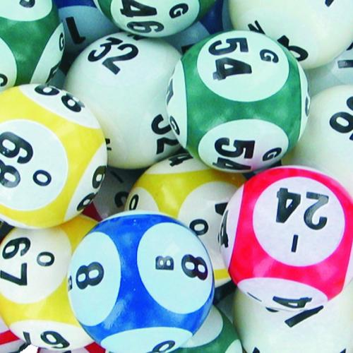 5 Color Six Side Print Bingo Balls