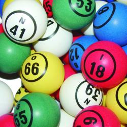 BINGO BALL- MULTI 1#