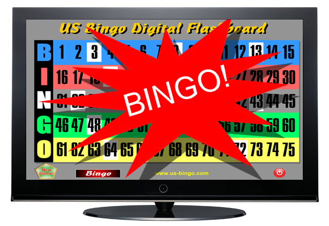 Additional Display for Digital Bingo Flashboard System