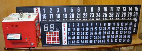 Bingo Flashboard with Control Box
