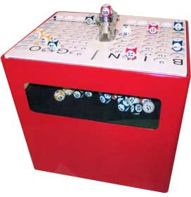 Professional Table Top Bingo Machine