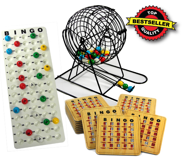 Bingo Party Kit Game Set