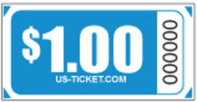 Premium $1.00 Roll Tickets