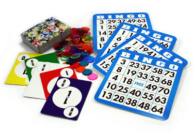 Mini Bingo Kit Game Set