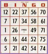 Jumbo Size Easy-Read Bingo Cards