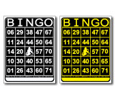 Visually Impaired Bingo Cards