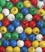 90 BALL SET - BINGO BALL- 5 COLOR PLASTIC