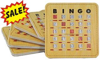 Deluxe Bingo Shutter Cards