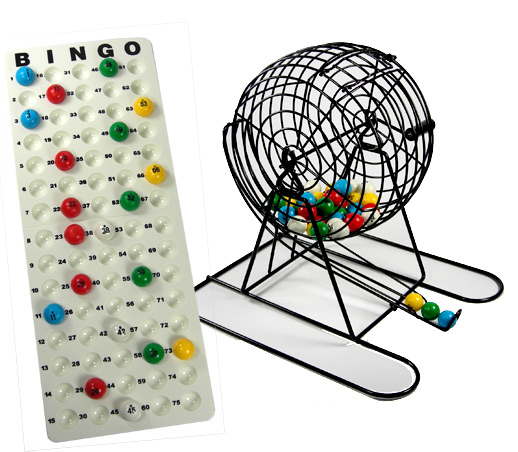 BINGO CAGE - SUPERIOR BALLS MADE IN USA